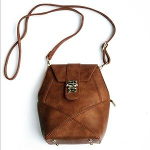 Pink Haley Bags - Beautiful Cognac Crossbody Bag